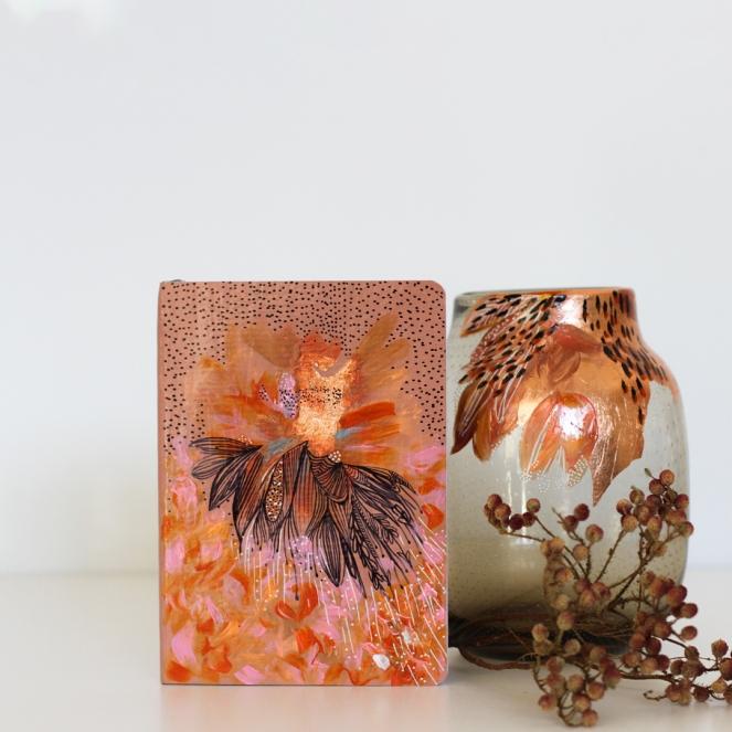 Pot+Journal-floral-copper