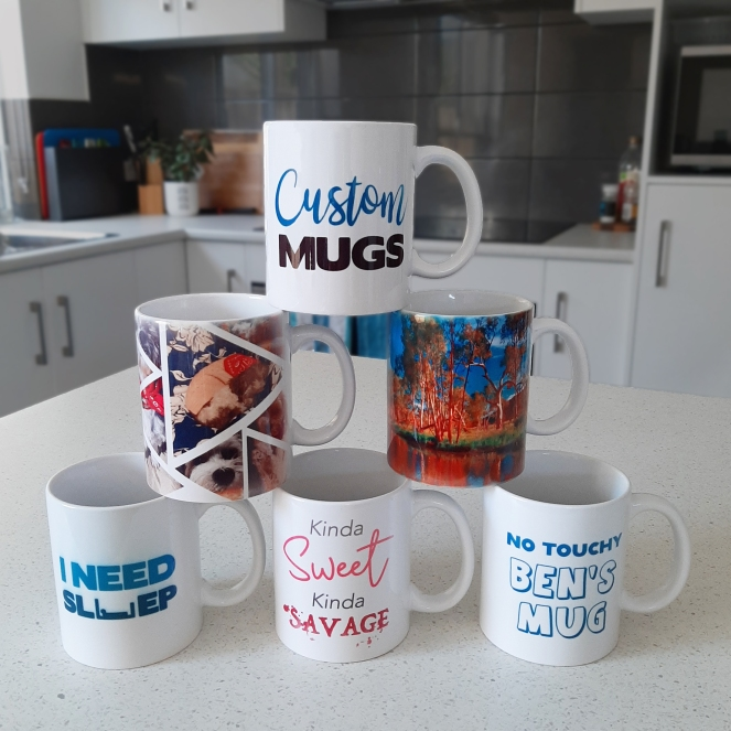 Mug Display at home