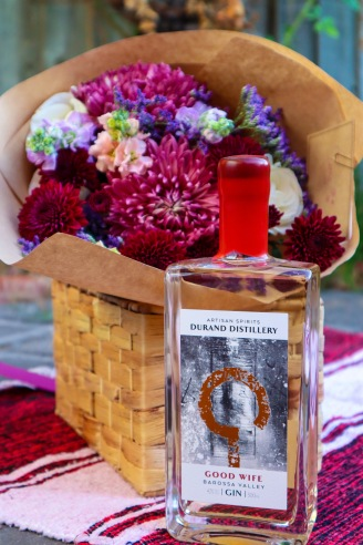Blooms by Hope Blooms Floristry, Gin by Durand Distillery